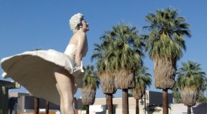 Forever Marilyn Palm Springs Downtown