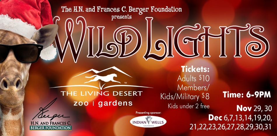 Wildlights Festival At The Living Desert Palm Springs