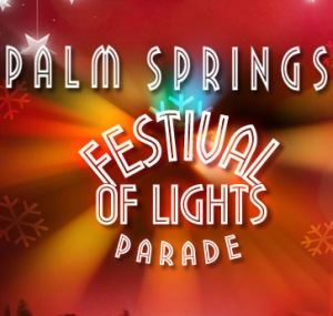 Palm Springs Lights Parade 2014