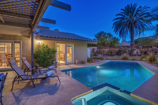 Padua Paradise Palm Springs CA Vacation Rental Pool Home