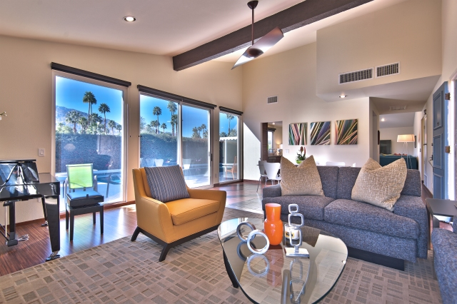 Palm Springs Holiday House • South Palm Springs CA • Vacation Rental Pool Home