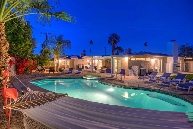 Park Haven Six • South Palm Springs CA • Vacation Rental Pool Home